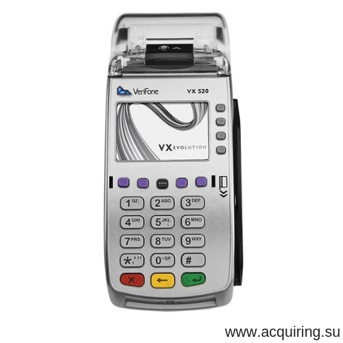 POS-терминал Verifone VX520 (Ethernet - локальная сеть) с базовым ПО в Рязани